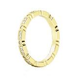 Обручальное кольцо из желтого золота с бриллиантами И все же