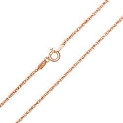Серебряная цепь с позолотой, 2 мм 000039395