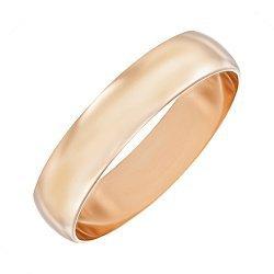 Золотое обручальное кольцо 4 мм 000103666