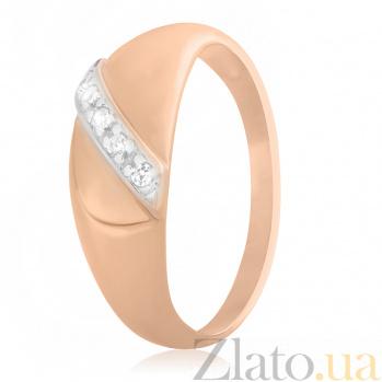 Серебряное кольцо с фианитами Нева 000025620