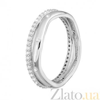 Серебряное кольцо с фианитами Эйриан SLX--К2Ф/243
