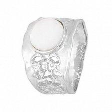 Серебряное кольцо с перламутром Ассанта