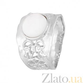 Серебряное кольцо с перламутром Ассанта 000028050