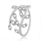 Серебряное кольцо с цирконием Лавр