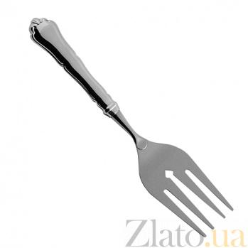 Серебряная вилка для сервировки рыбы Чип  ZMX--110_146
