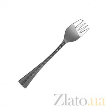 Вилка для торта Централь из серебра  ZMX--112_626