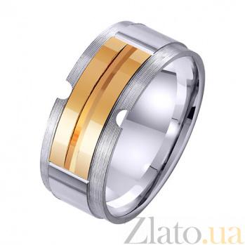 Обручальное кольцо из комбинированного золота Нерушимые узы TRF--421649