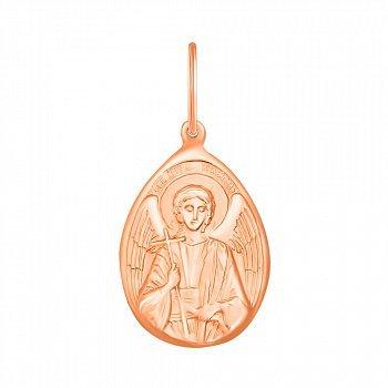 Ладанка Моя защита из красного золота 000129812