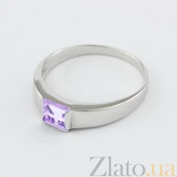 Кольцо из белого золота с аметистом Аделина VLN--112-186-4*