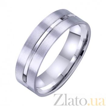 Золотое обручальное кольцо Нежная привязанность TRF--4211715