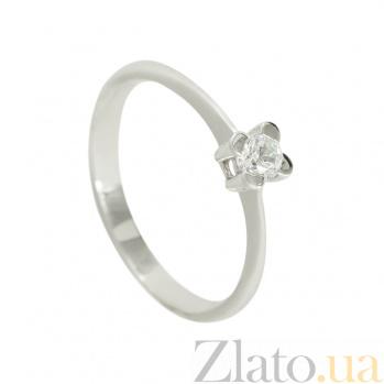 Золотое кольцо с цирконием Мелани 2К480-0364