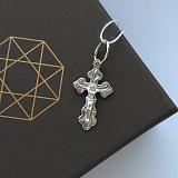Крестик из серебра Благая весть