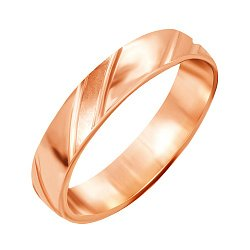 Серебряное кольцо с позолотой 000045411