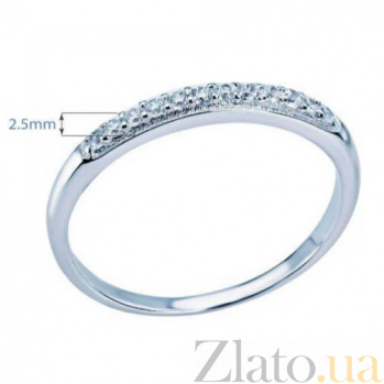 Серебряное женское кольцо AQA--TR-3039/1