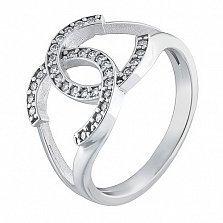 Кольцо из белого золота Законодательница мод
