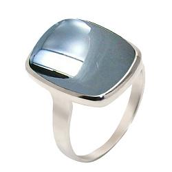 Серебряное кольцо с гематитом Эмма 000008252