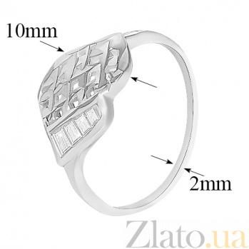 Серебряное кольцо Весенняя нежность 10000140