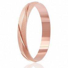 Позолоченное кольцо из серебра Элегантность