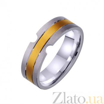 Золотое обручальное кольцо Camille TRF--421325непр