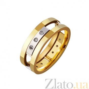 Золотое обручальное кольцо Предвестник счастья TRF--4421618