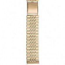 Золотой браслет для часов Лидерство