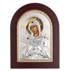 Икона Семистрельная Божьей Матери
