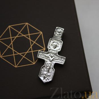 Серебряный крест Преклонение 000032483