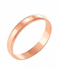 Золотое обручальное кольцо Любовь и верность