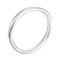 Обручальное кольцо из белого золота 000119644