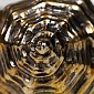 Серебряная икорница Панцирь Рапана 1078
