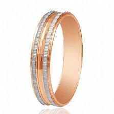 Золотое обручальное кольцо Поручение