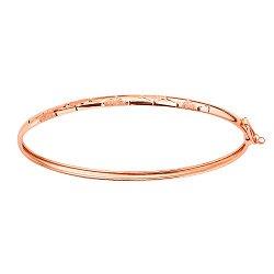 Жесткий браслет из красного золота 000139291