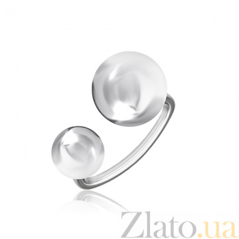 Серебряное кольцо Глянец 000028025