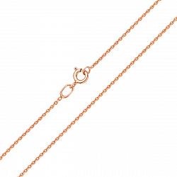 Цепочка из красного золота в якорном плетении 000104313