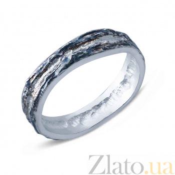 Серебряное кольцо AQA--АНТ 001б/ч