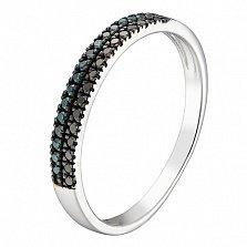 Кольцо в белом золоте Дарина с бриллиантами
