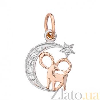 Золотой подвес знак зодиака Овен 3541653 овен