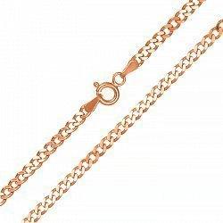 Серебряная цепочка с позолотой 000087863