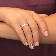 Серебряное кольцо с фианитами Авалон
