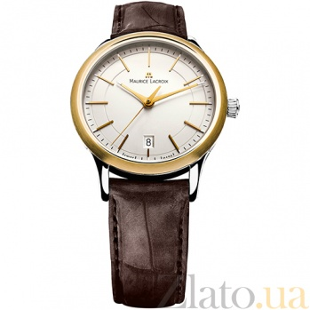 Часы Maurice Lacroix коллекции Les Classiques Gents date MLX--LC1117-PVY11-130