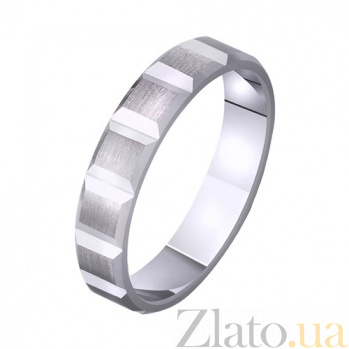 Обручальное кольцо из белого золота Страсть TRF--421818