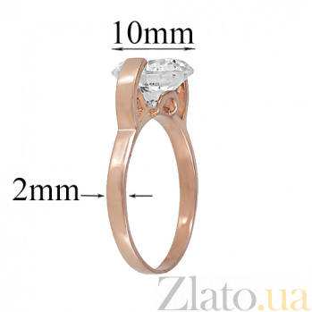 Золотое кольцо с фианитом Тарина ONX--к01950