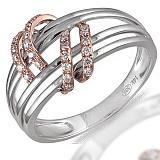 Кольцо из белого золота с бриллиантами Шарлотта