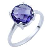 Серебряное кольцо Хельга с александритом
