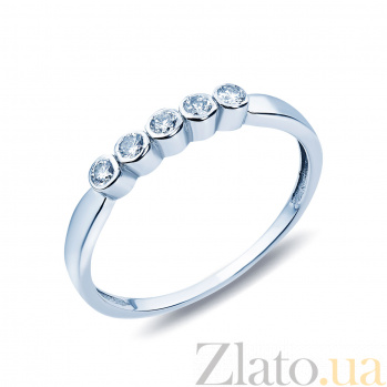Золотое кольцо с бриллиантами Зарождение семьи AQA-1109682