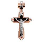 Золотой крест с агатом Послание свыше