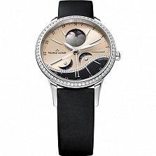 Часы Maurice Lacroix с черным ремешком коллекции Starside Eternal Moon