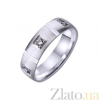 Золотое обручальное кольцо с фианитами Созвездие TRF--4221094
