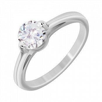 Серебряное кольцо Сиа с фианитом 000030934