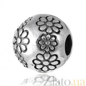 Серебряный подвес - шарм Ромашки SLX--П5/8093